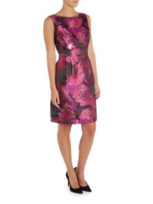 Tahari ASL Floral Print Dress