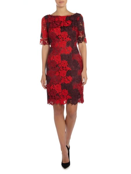 Tahari ASL Lace Dress