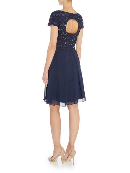 Tahari ASL Chiffon Dress