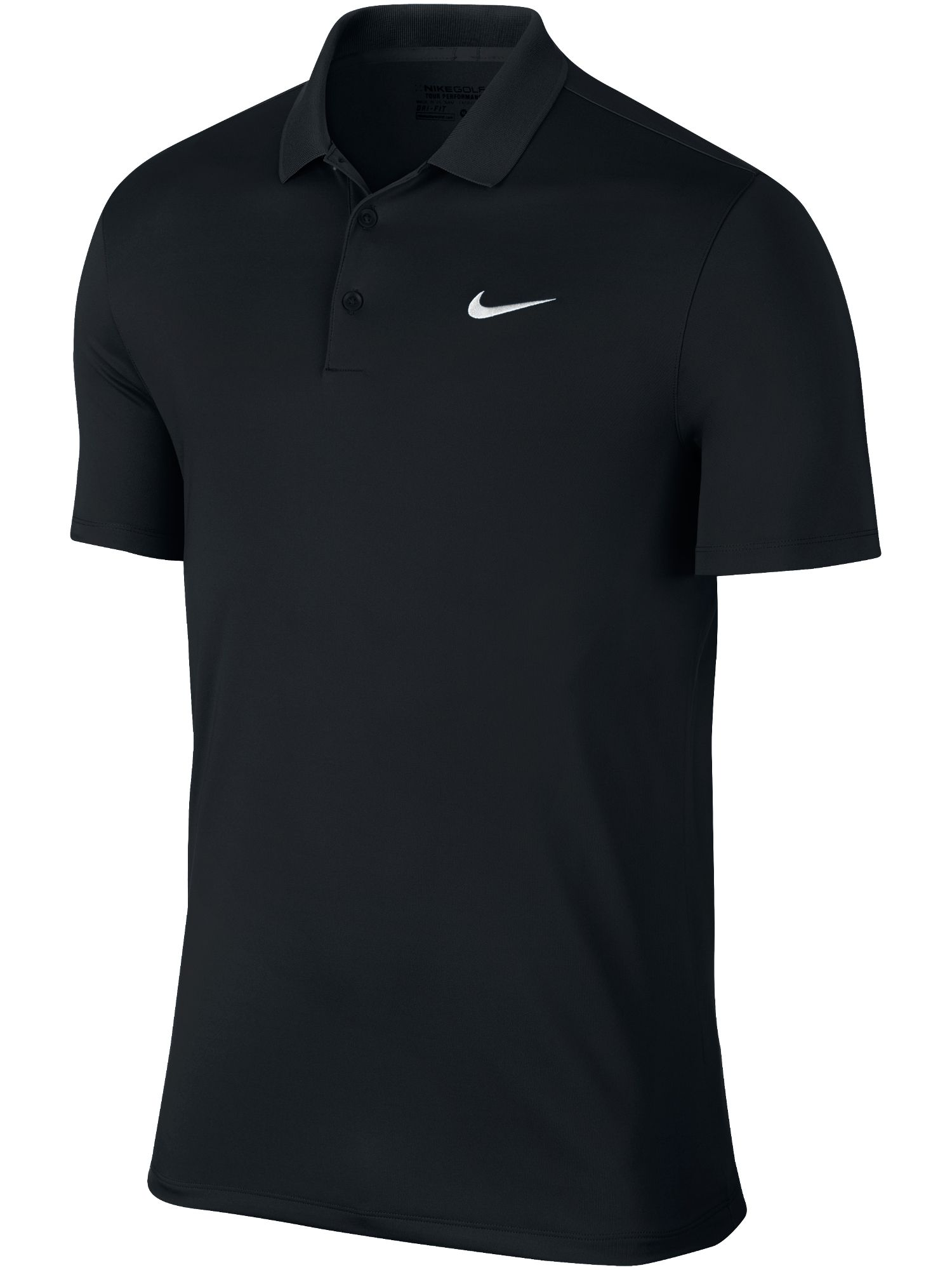 Men's Nike Golf Victory Solid Polo, Black
