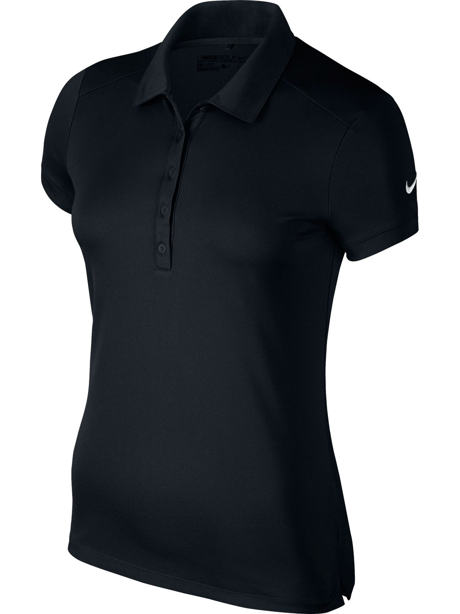 Nike Golf Victory Solid Golf Polo, Black