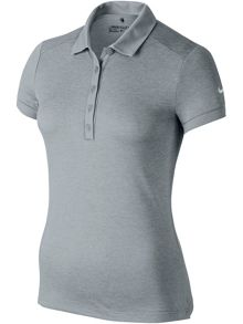 Nike Golf Icon Heather Golf Polo