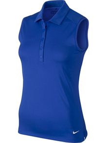 Nike Golf Victory Solid Sleeveless Golf Polo
