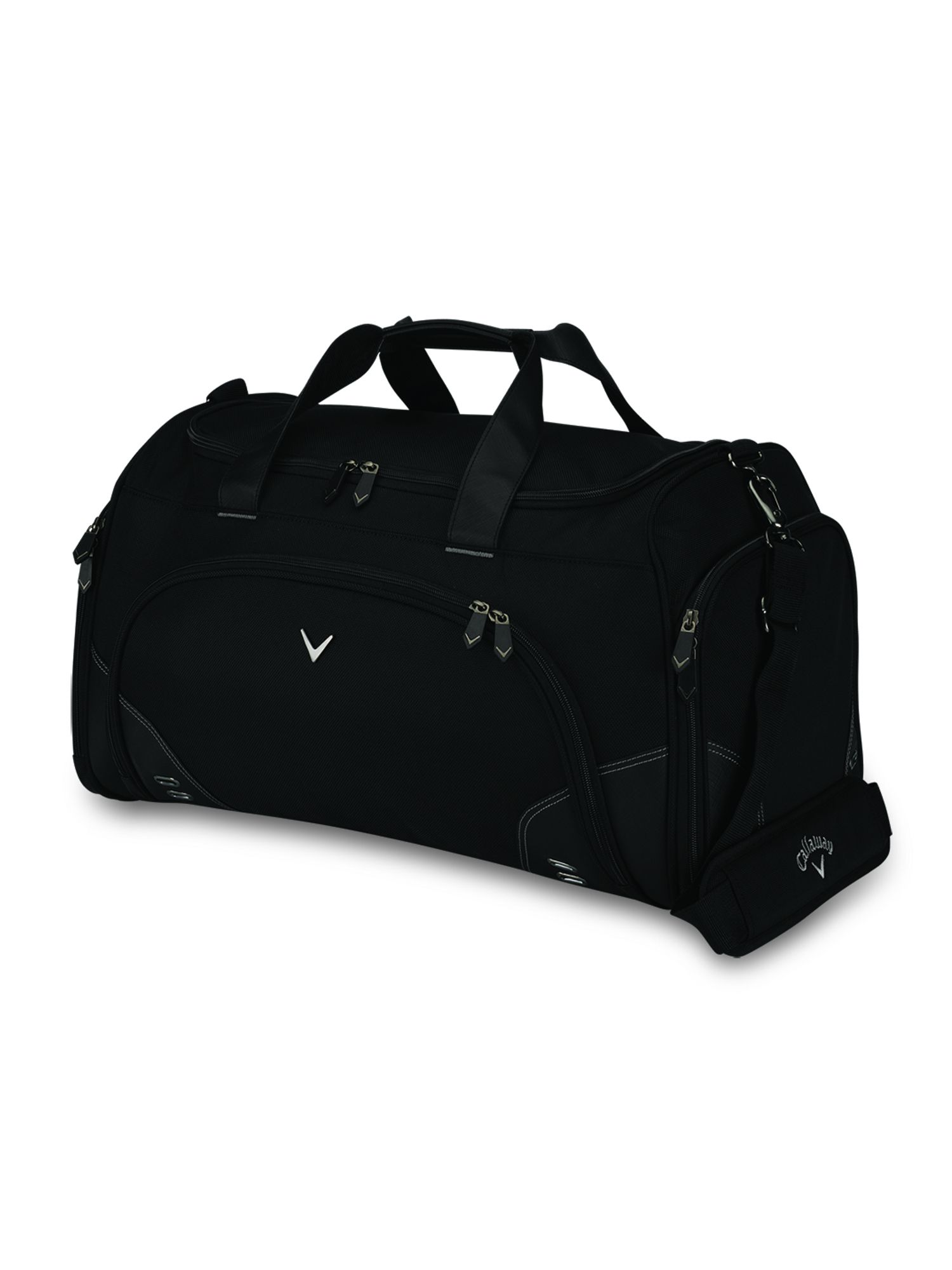 Chev medium duffel bag