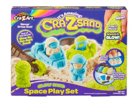 Cra-Z-Sand Cra-Z-Sand Glow Sand Space Play Set