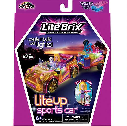 Lite Brix Sports Car