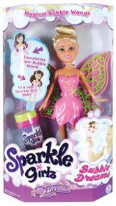 Sparkle Girlz Bubble Dreams Fairy Doll