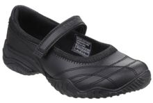 Skechers Girls Velocity Pouty Bar Strap Shoe