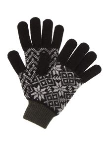 Barbour Fairisle glove
