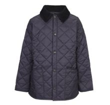Barbour Boys Liddesdale quilted jacket with cord collar