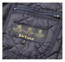 Barbour Boy`s Liddesdale quilted jacket with cord collar