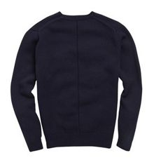 Typo wool crew neck jumper