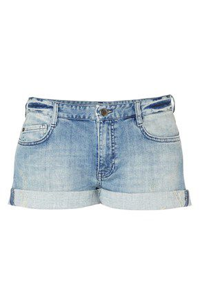 Afterglow denim 5 pocket shorts