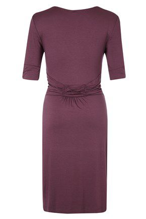 Susie jersey v-neck dress