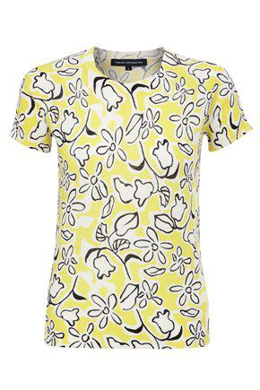 Flower fun print jumper