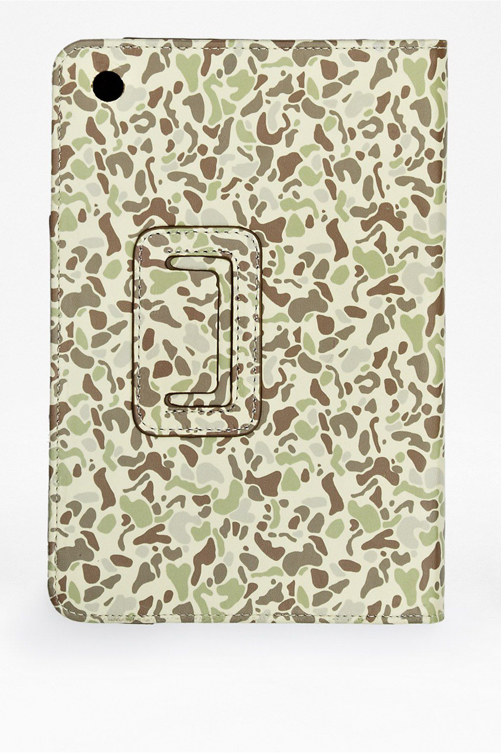 Printed camo mini tablet holder