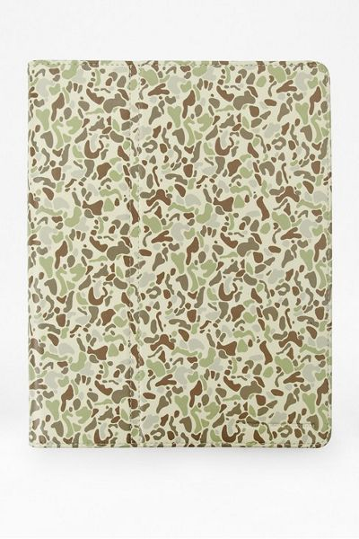 French Connection Printed camo tablet case