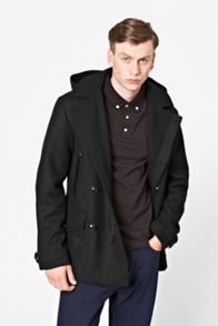 French Connection Marine melton duff jacket