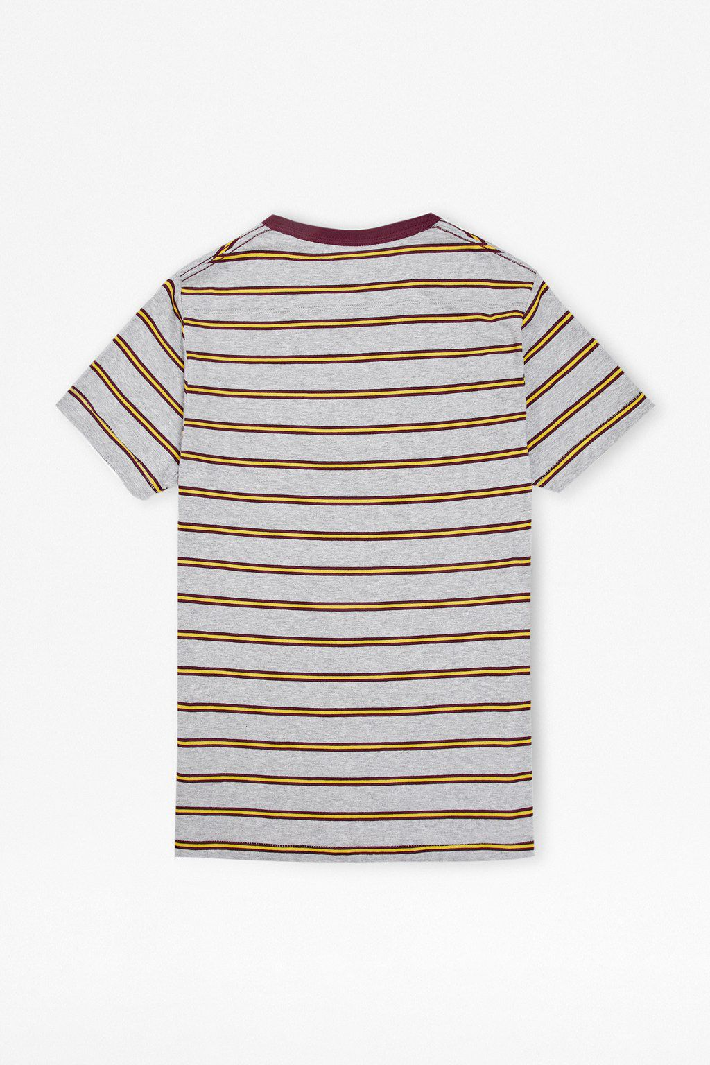 Library stripe tee
