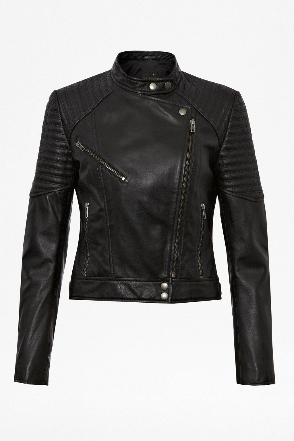 Fast jet leather jacket