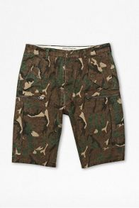 Painted camouflage short