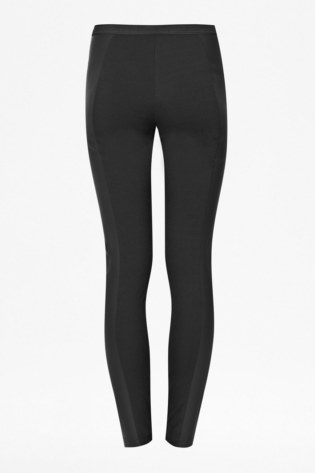 Linear pu legging