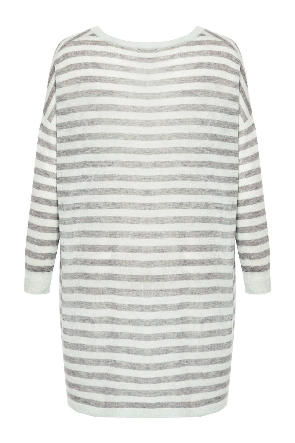 Marella stripe v neck top