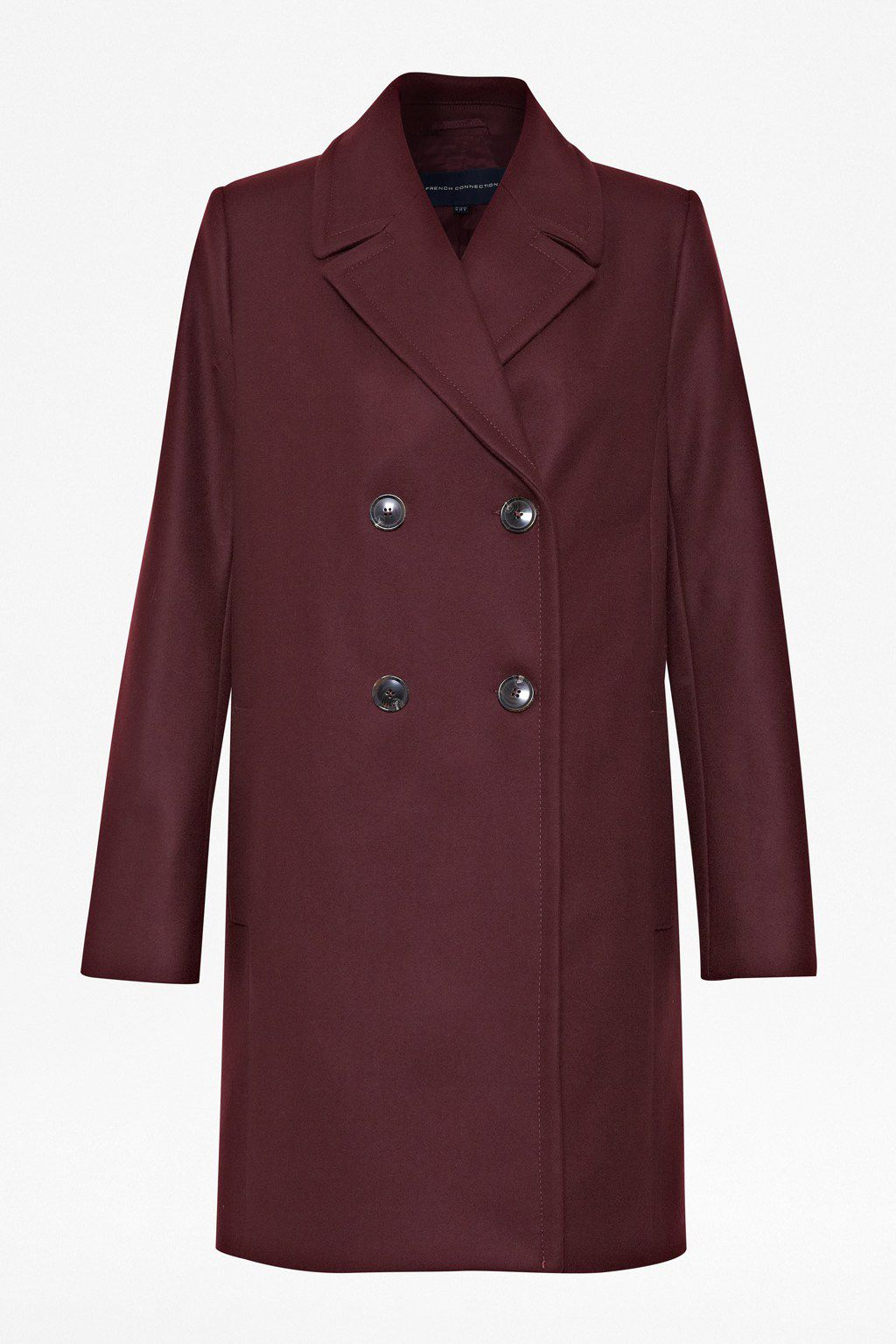 Melton madness double breasted coat