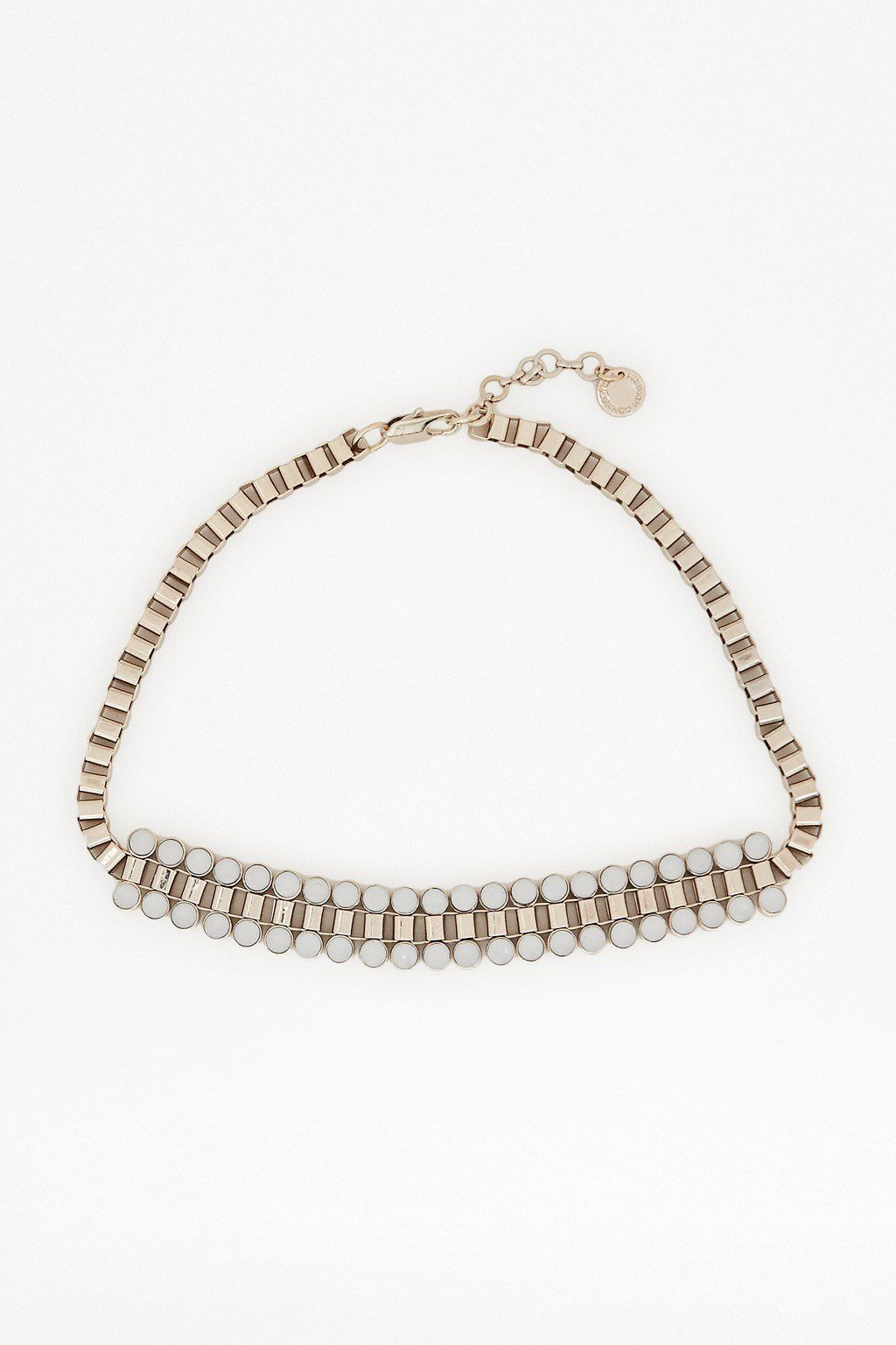 Cupchain collar necklace