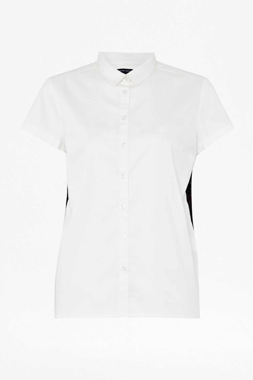 Abby lace short sleeve classic shirt