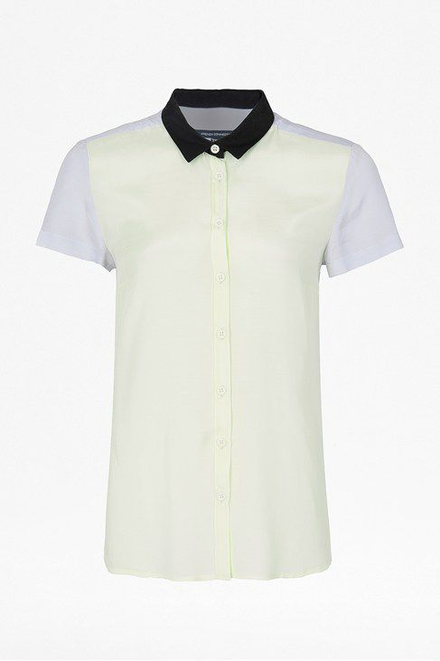 Holiday block short sleeve classic shirt
