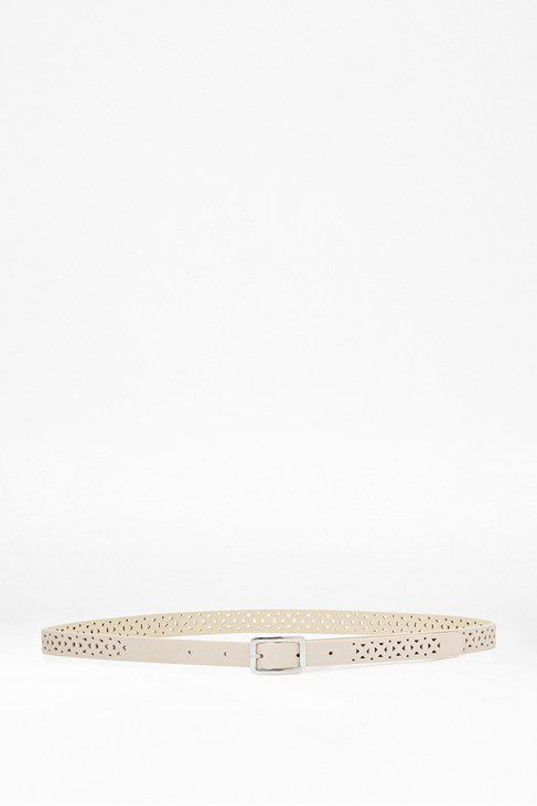 Palmer perforated belt