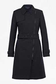 Freeway Cotton Belted Trench
