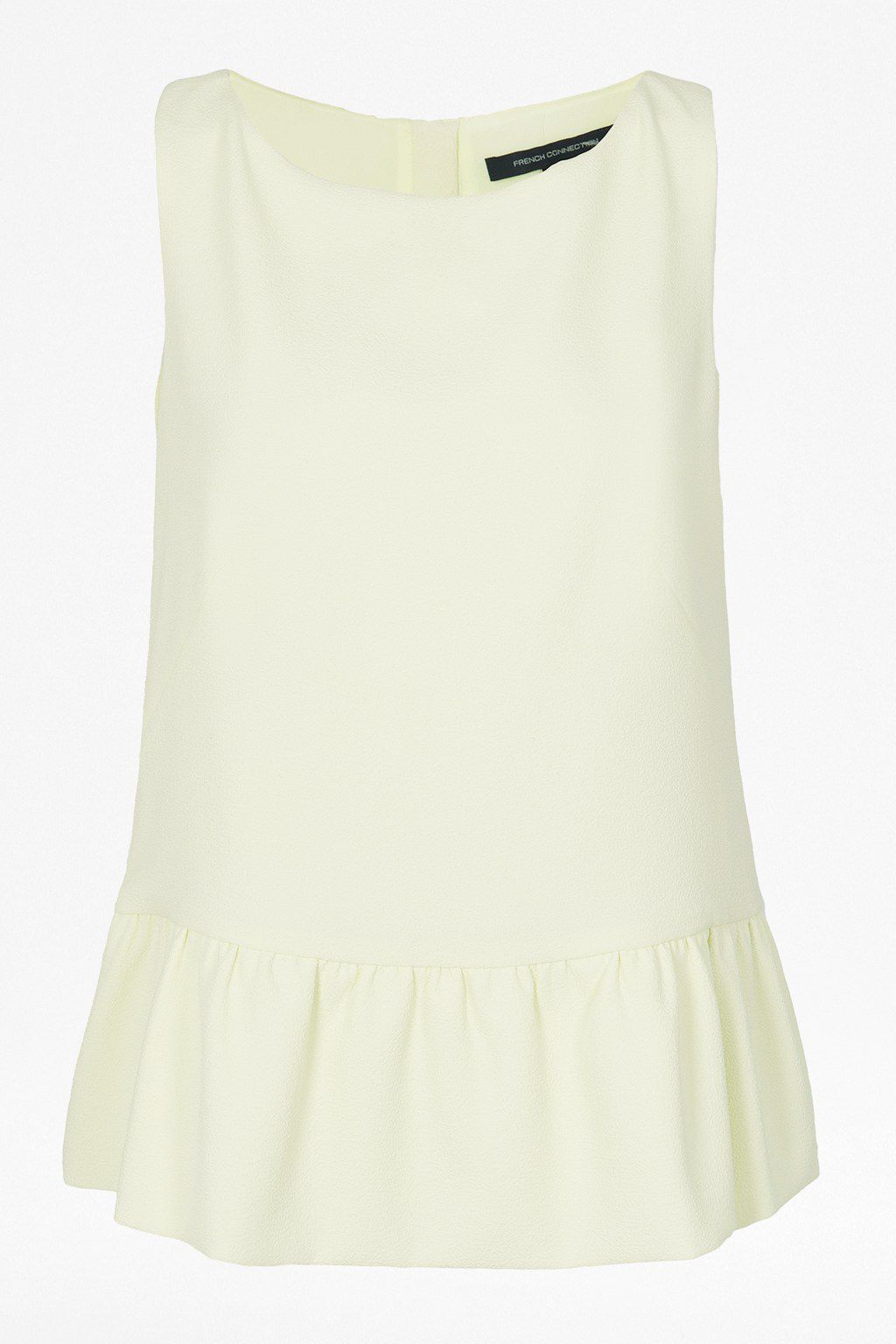 Tennis crepe sleeve less top