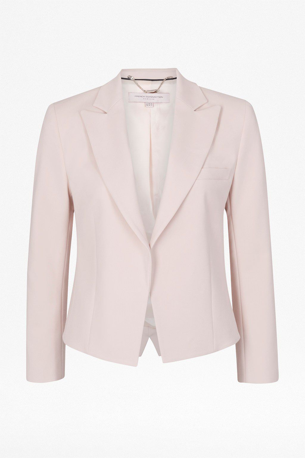 Capri cotton long sleeve cropped jacket
