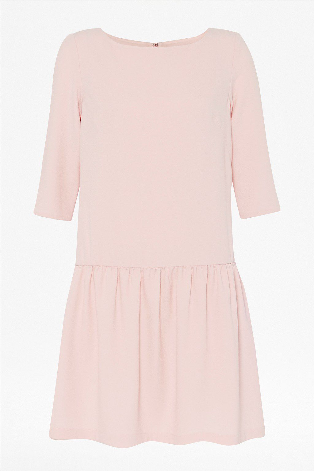 Tennis crepe 3/4 sleeve dress