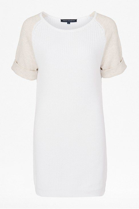 Conrad knits short sleeve tunic