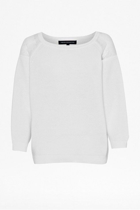 Roma knits long sleeve raglan jumper