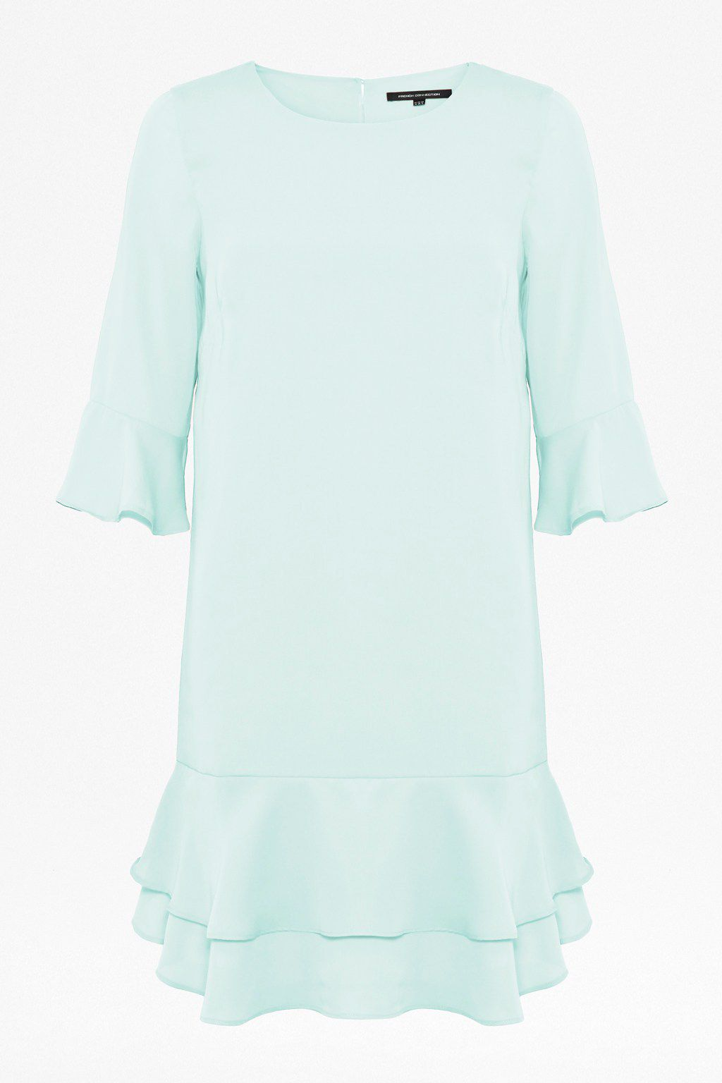 Amalie drape short sleeve dress
