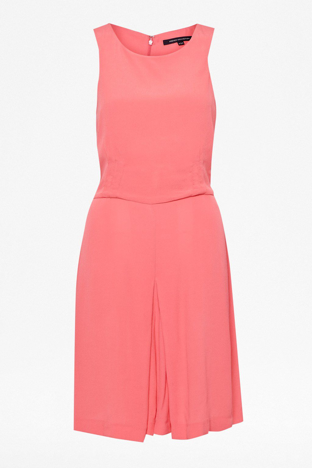 Holiday poppy plain playsuit