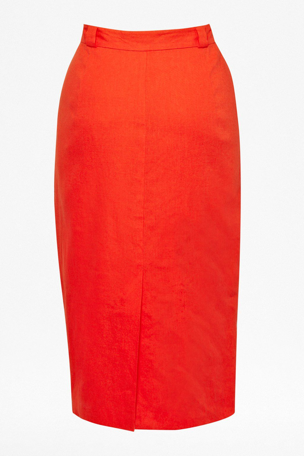 Laguna linen pencil skirt