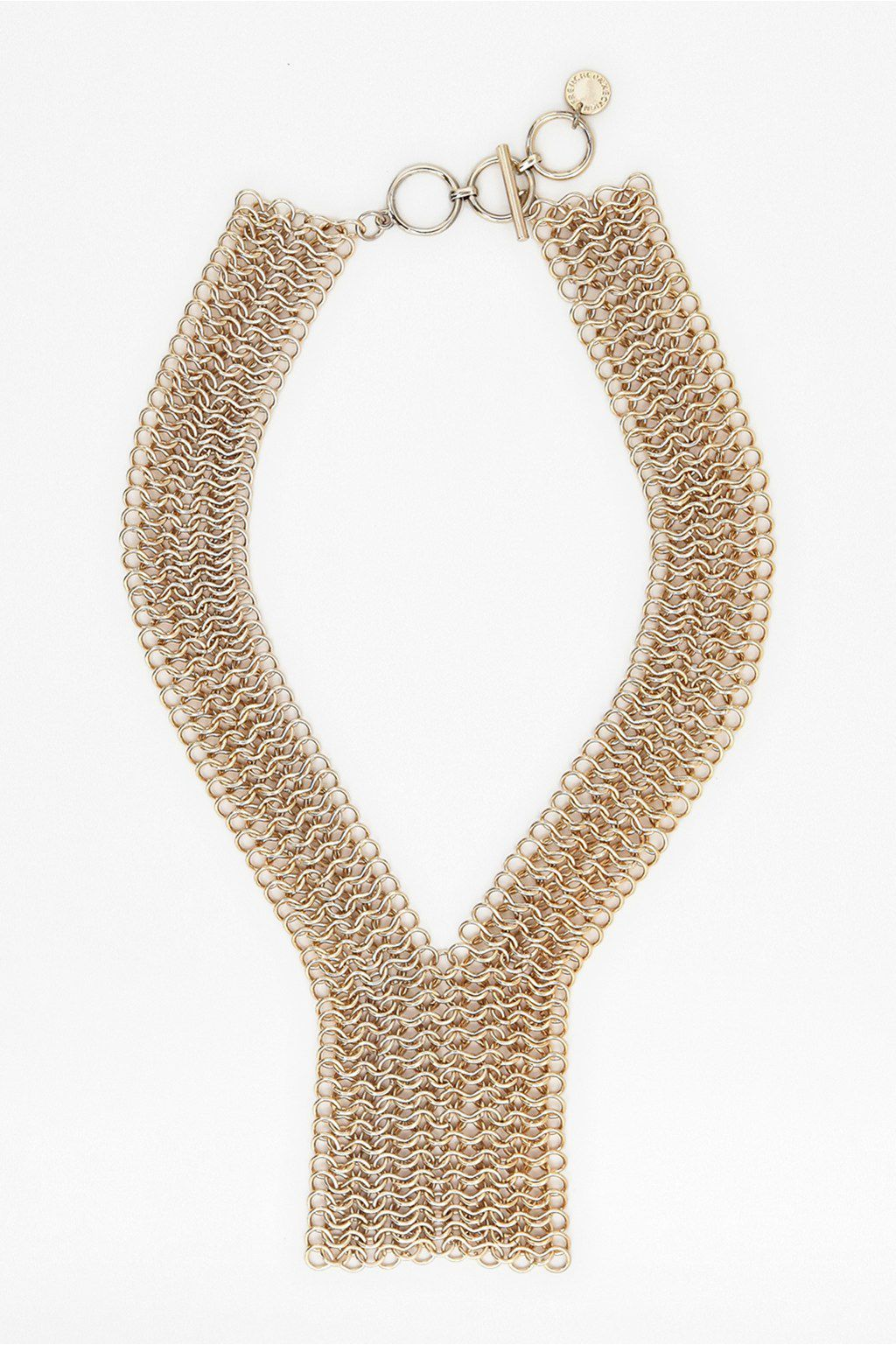 Chainmail y style necklace