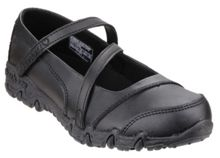 Skechers Girls Gemz Bar Strap Shoes