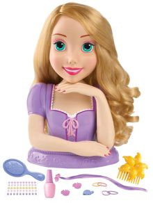 Disney Princesses Rapunzel Deluxe Styling Head