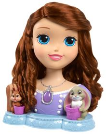Sofia the First Talking Styling Head