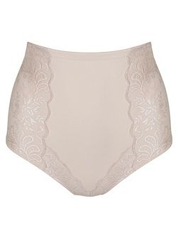 Sophia lace high waist brief