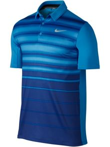 Nike Golf Mobility Fade Stripe Polo