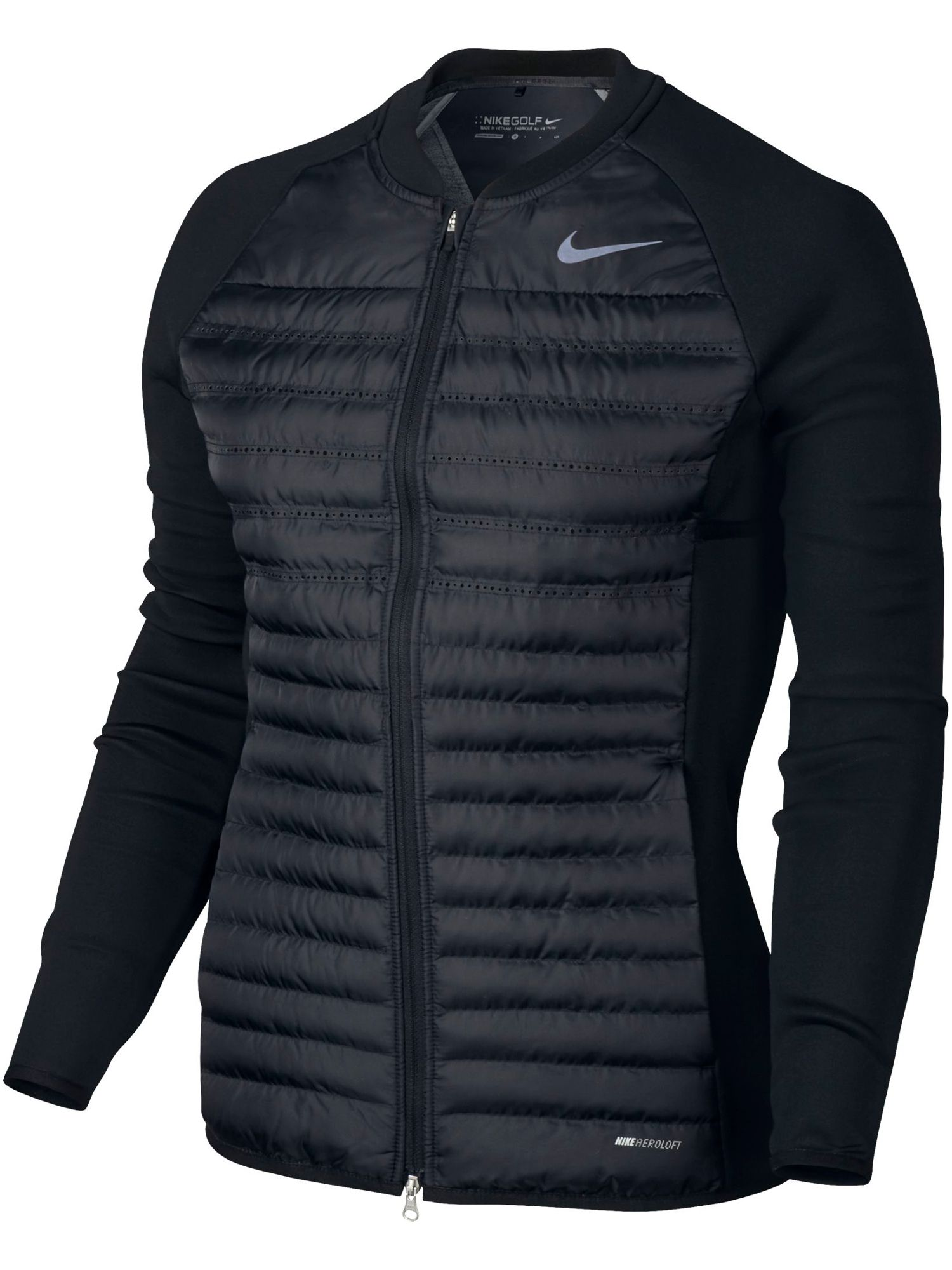 Nike Golf Aeroloft Combo Golf Jacket, Black