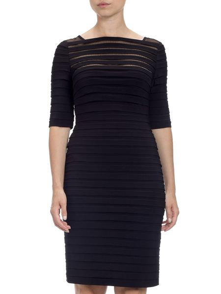 Adrianna Papell Knee Length Bodycon Dress