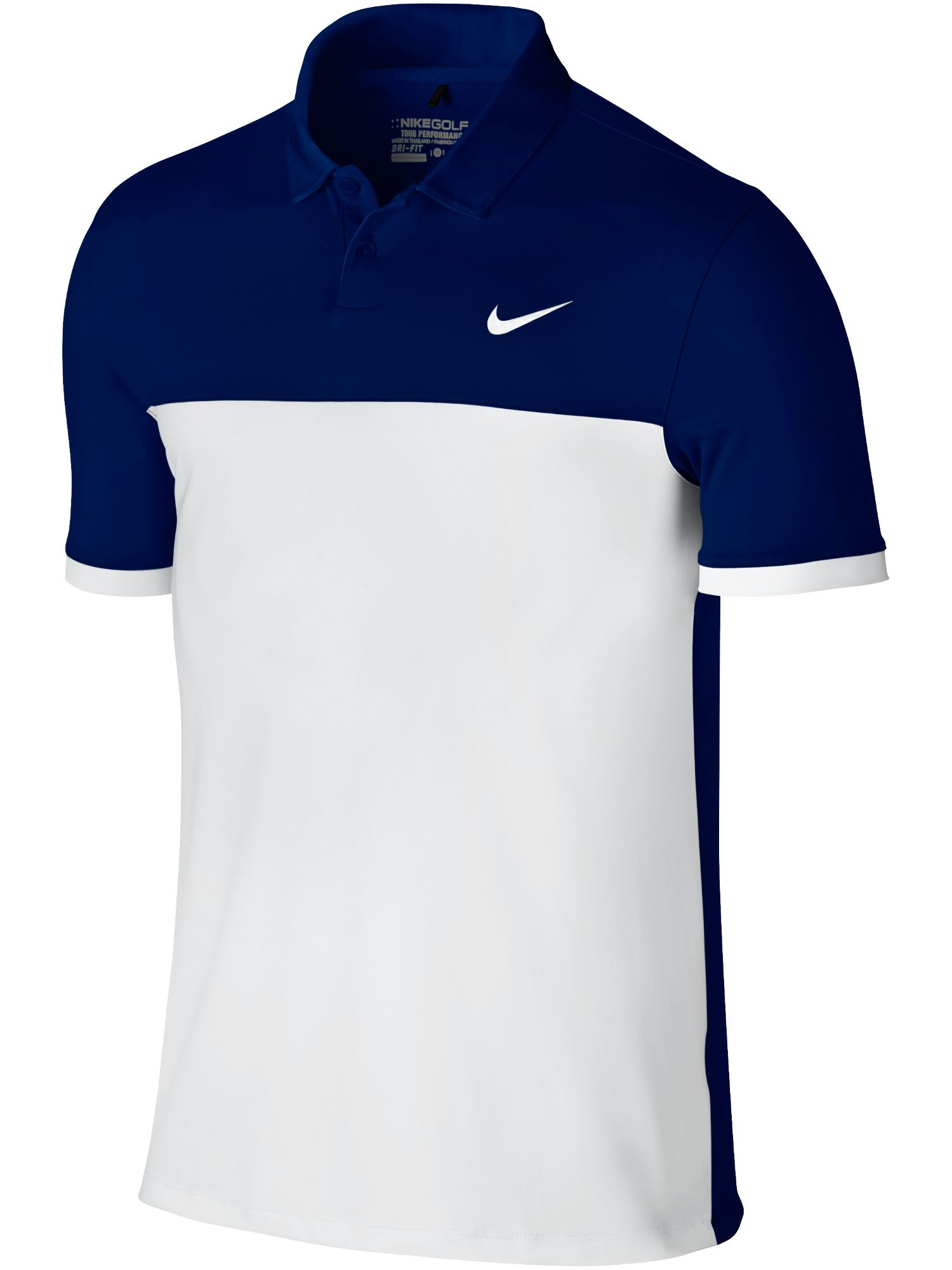 Men's Nike Golf Icon Color Block Polo, Blue